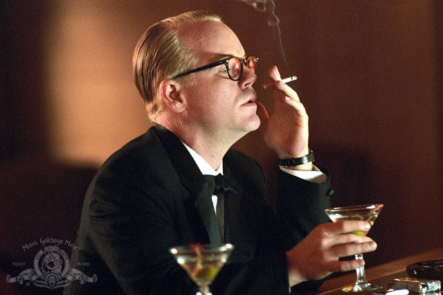 "Philip Seymour Hoffman as Truman Capote in ""Capote"" 