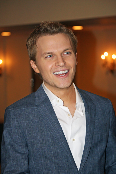 Ronan Farrow at the Reach the World event in New York | Melanie Votaw Photo