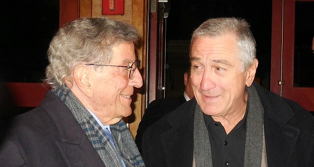 Tony Bennett and Robert De Niro