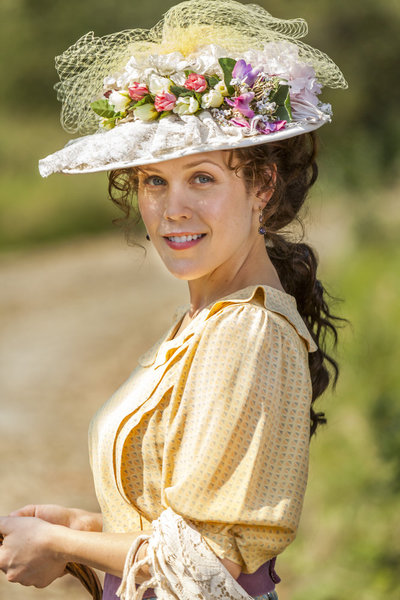 "Erin Krakow in ""When Calls the Heart"""