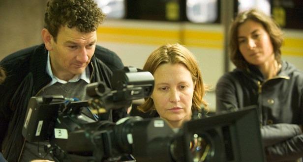 Director Jen McGowan on Set