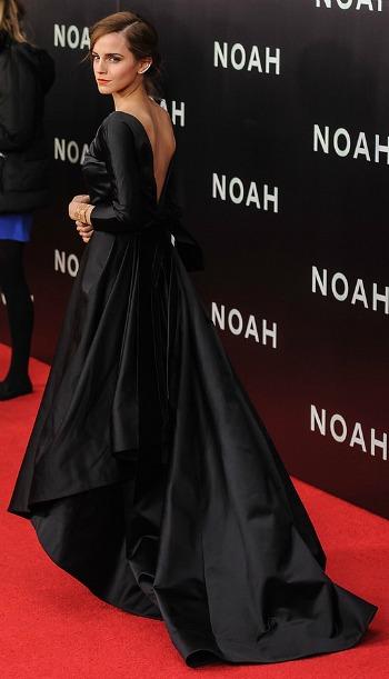 Emma Watson at the Noah NYC Premiere