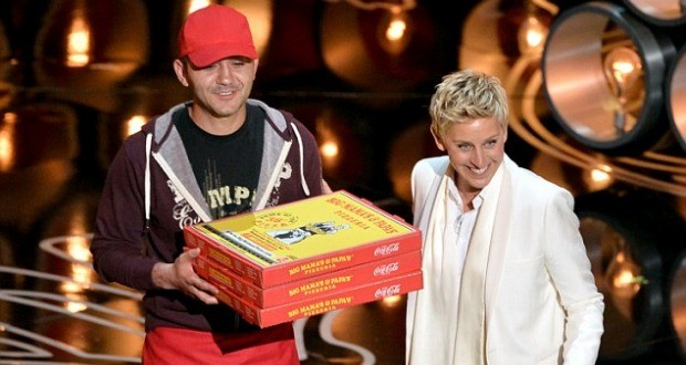 Oscar Pizza Delivery Guy