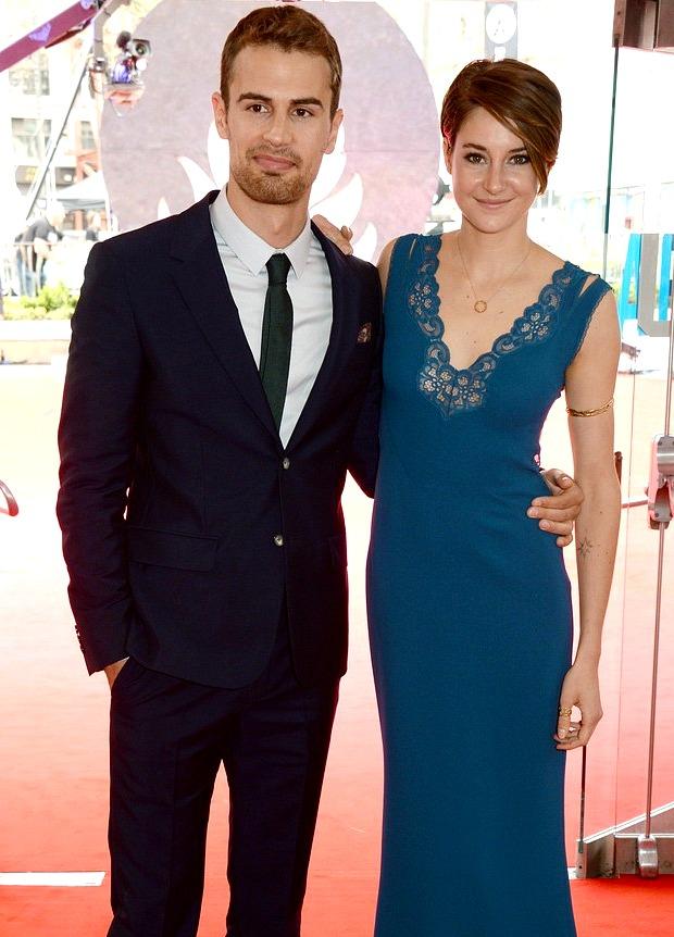 Shailene Woodley at the Divergent London Premiere