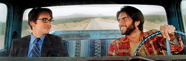 "Vincent Piazza and Wes Bentley in ""3 Nights in a Desert"""