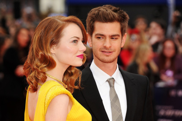 Emma Stone Andrew Garfield Red Carpet