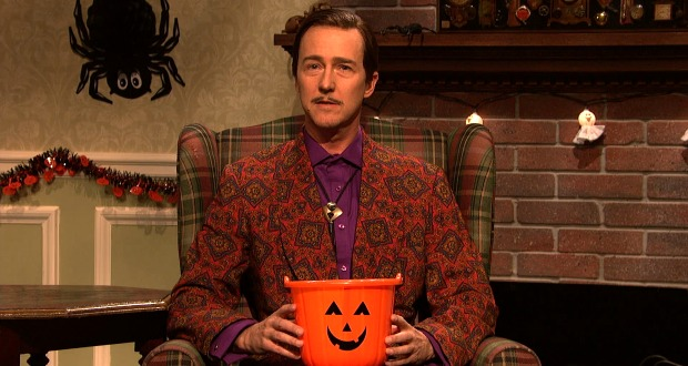 Edward Norton in SNL's Halloween Sketch