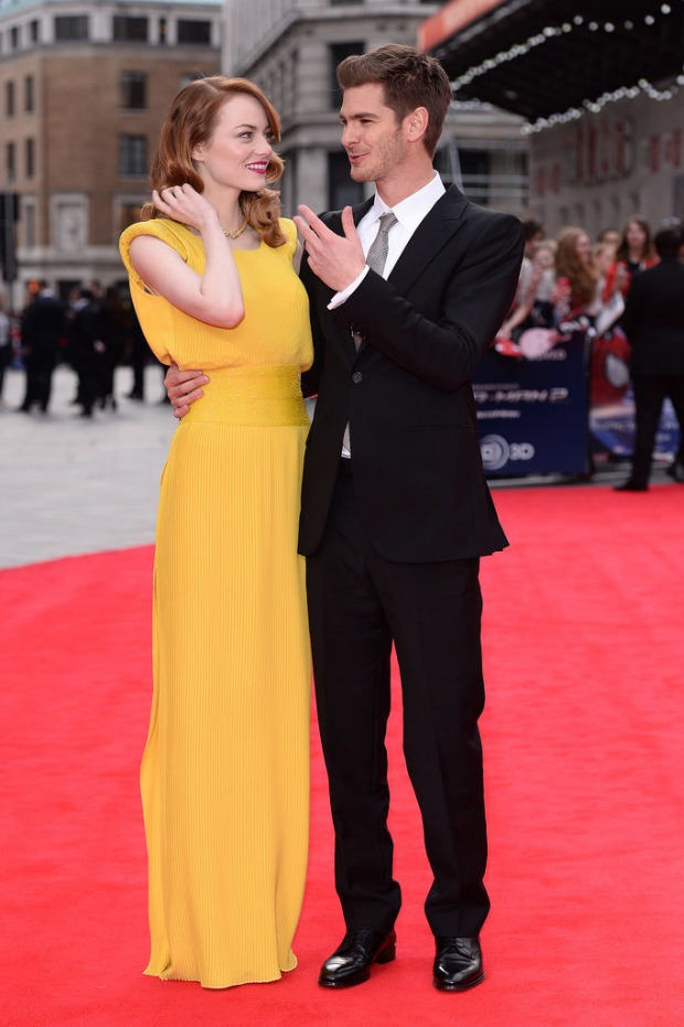 Red Carpet: Emma Stone and Andrew Garfield