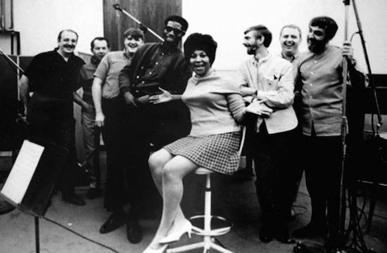 Aretha Franklin at FAME Recording Studios
