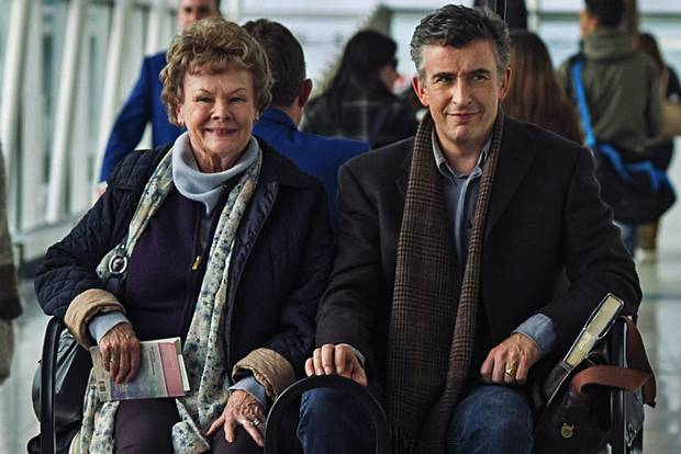 "Judi Dench and Steve Coogan in ""Philomena"""