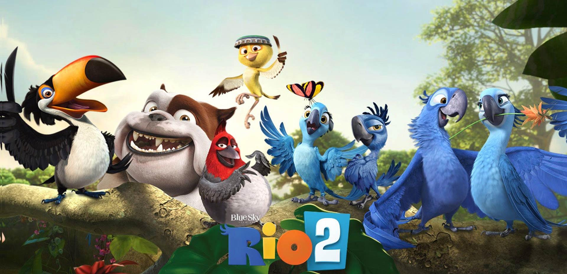 Rio 2 Poster 4 - Reel ...