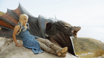 Emilia Clarke as Daenerys Targaryen | HBO