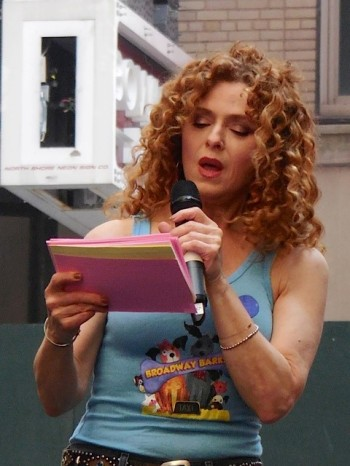 Broadway Barks Bernadette Peters