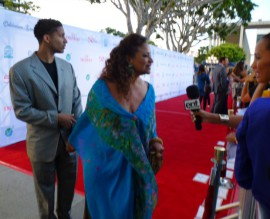 Debbie Allen on the Dizzy Feet Gala Red Carpet.