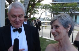 Pierre Dulaine and Yvonne Marceau