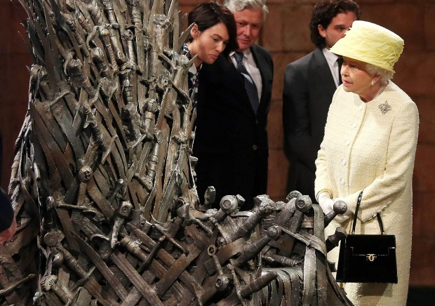 Game of Thrones Queen of England