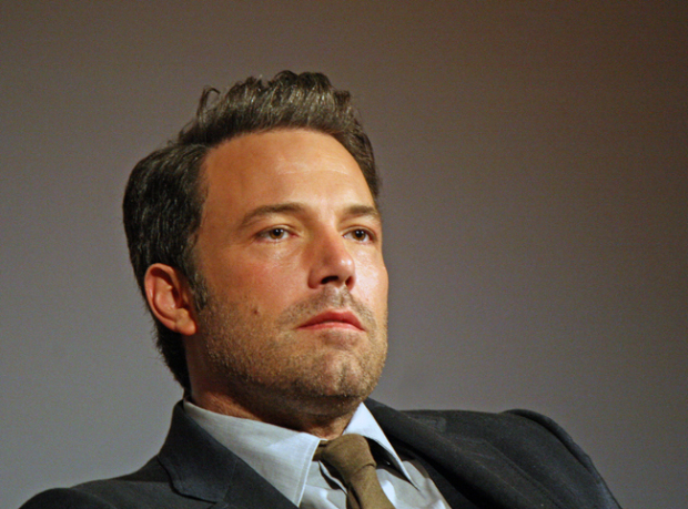 "Ben Affleck at the New York Film Festival press conference for ""Gone Girl"" 