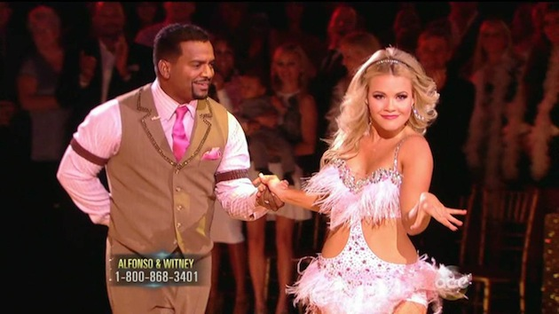 Alfonso and Witney DWTS
