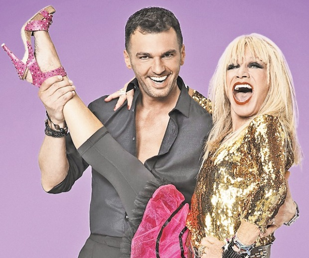 Betsey and Tony DWTS
