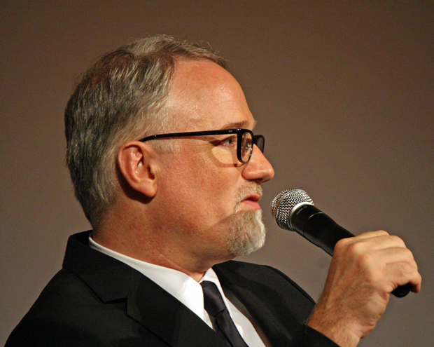 David Fincher at the NY Film Festival | Melanie Votaw Photo