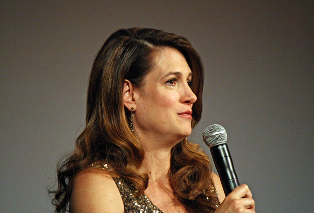Gillian Flynn at the NY Film Festival | Melanie Votaw Photo