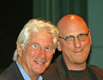Richard Gere and Oren Moverman at the NY Film Festival | Melanie Votaw Photo