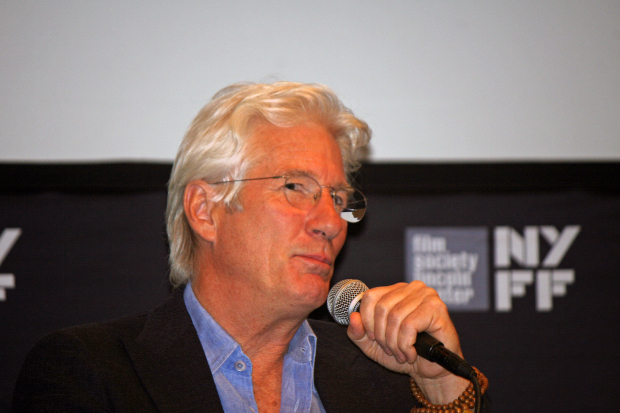 "Richard Gere at the 2014 New York Film Festival, talking about ""Time Out of Mind"" 