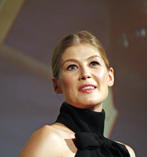 Rosamund Pike at the NY Film Festival | Melanie Votaw Photo