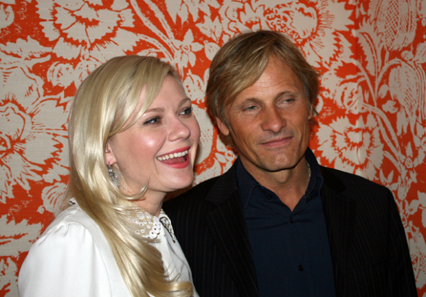 Kirsten Dunst and Viggo Mortensen in New York  | Melanie Votaw Photo