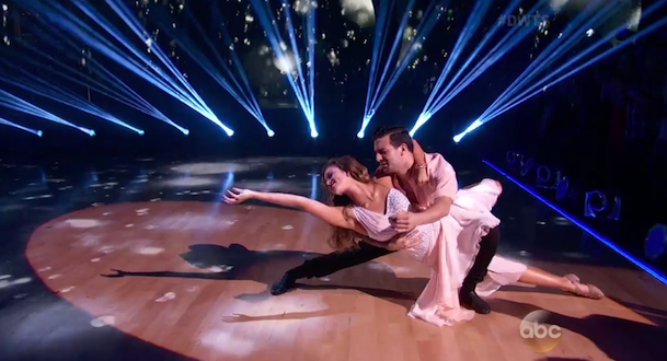 Sadie and Mark Rumba DWTS