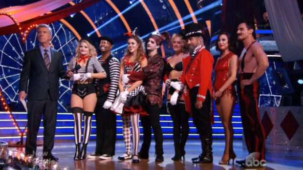 Team Creepy, Dancing with the Stars