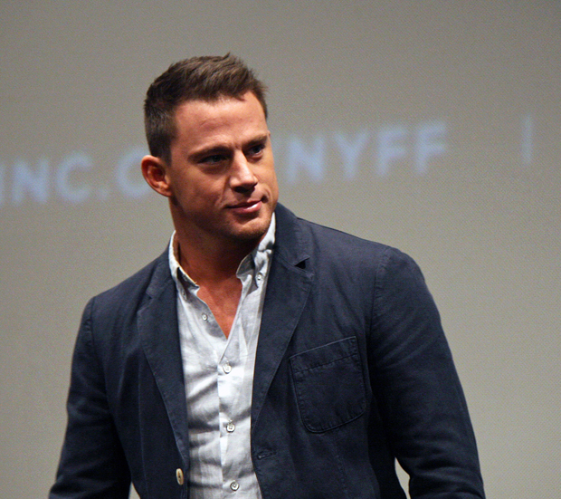 Channing Tatum at the New York Film Festival | Melanie Votaw Photo