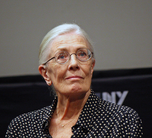 Vanessa Redgrave at the New York Film Festival | Melanie Votaw Photo