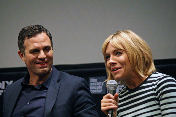 "Mark Ruffalo and Sienna Miller talk ""Foxcatcher"" in New York 