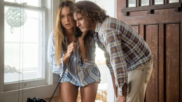 "Katherine Waterston and Joaquin Phoenix in ""Inherent Vice"" 