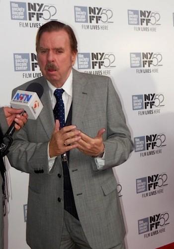 "NYFF Red Carpet: Timothy Spall of ""Mr. Turner"" | Paula Schwartz Photo"