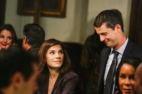 Julianna Margulies and Matthew Goode, The Good Wife