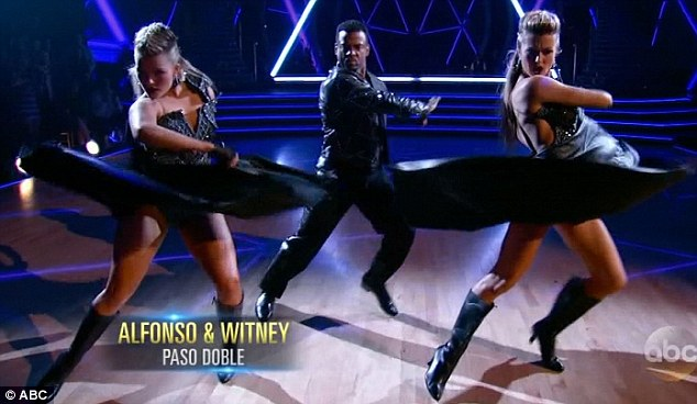 Alfonso, Witney, and Lindsay - DWTS