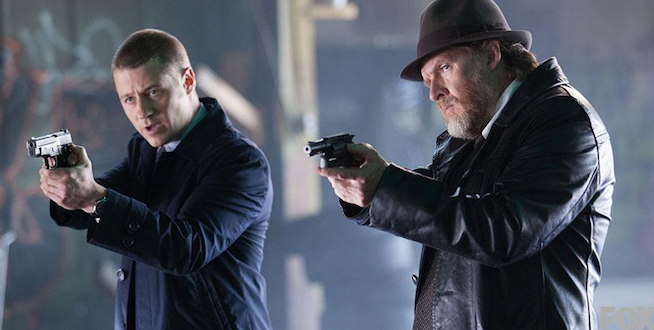 Gotham - Ben McKenzie and Donal Logue