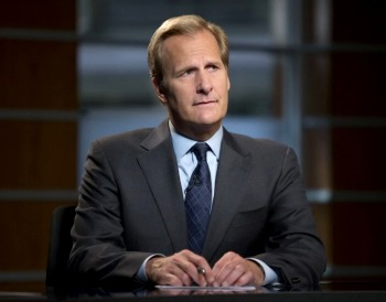 "Jeff Daniels in ""The Newsroom"""