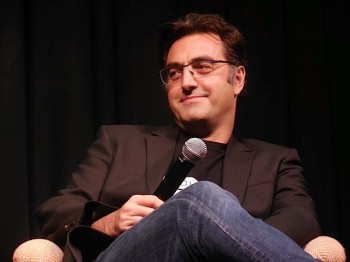 "Maziar Bahari at the New York press conference for ""Rosewater"" 