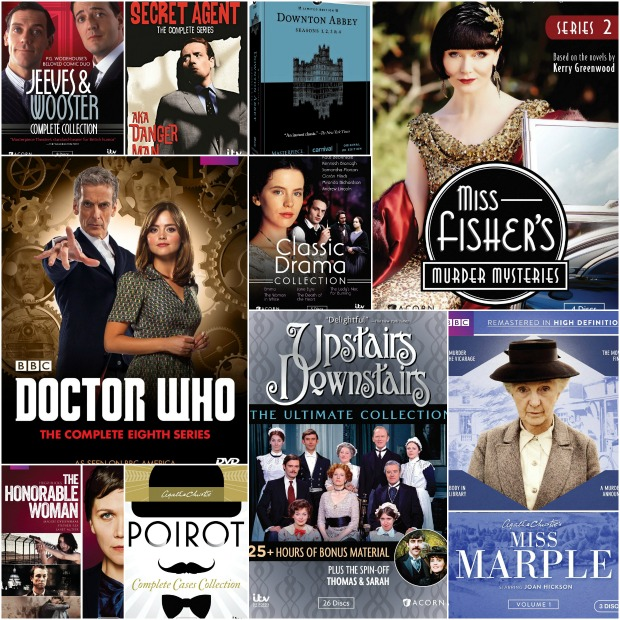 Brit TV Collage
