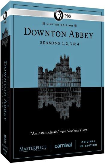 Downton Abbey 1-4