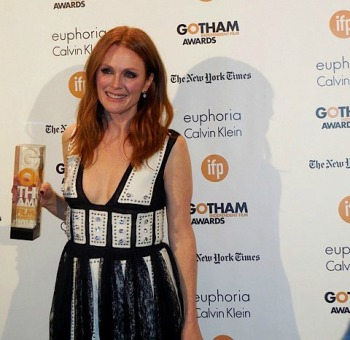 Julianne Moore at the 2014 Gotham Awards | Paula Schwartz Photo
