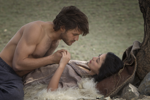 "Lorenzo Richelmy and Zhu Zhu in ""Marco Polo"" 
