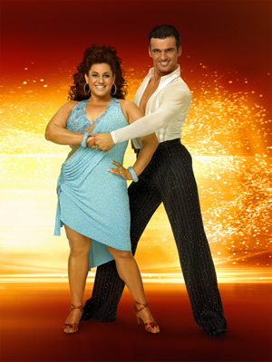 "Marissa Jaret Winokur and Tony Dovolani on ""Dancing With the Stars"" 