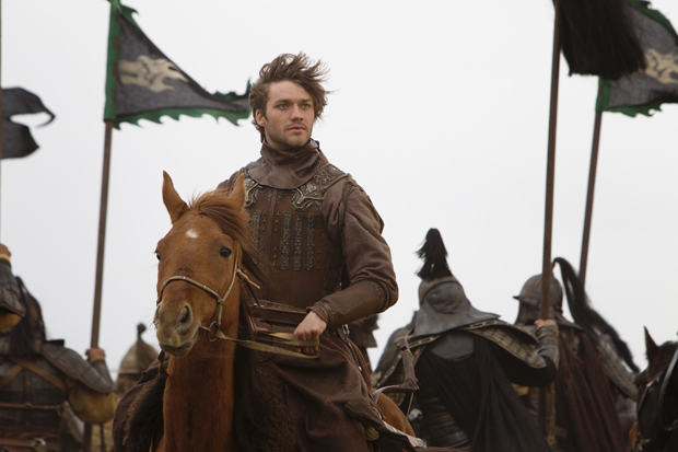 Lorenzo Richelmy as Marco Polo | Photo Phil Bray for Netflix