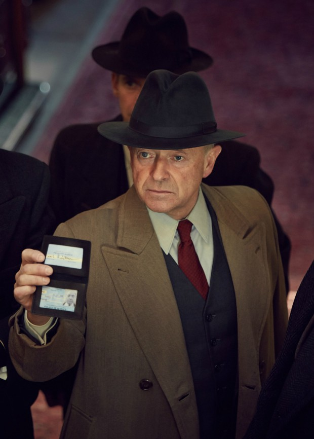 Michael Kitchen as Christopher Foyle in Foyle's War on Acorn TV | Credit: Acorn TV/ITV