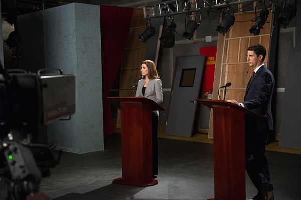 The Good Wife - Alicia and Finn