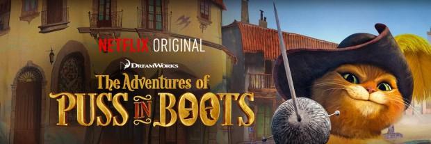 Netflix Adventures of Puss in Boots